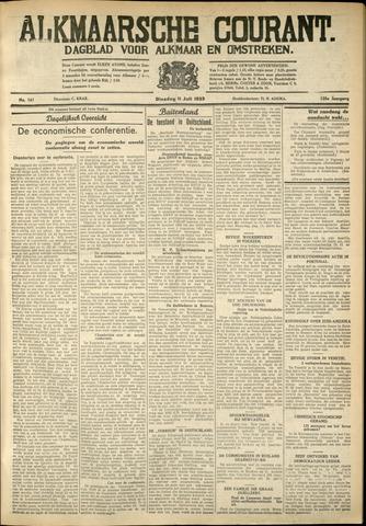 Alkmaarsche Courant 1933-07-11