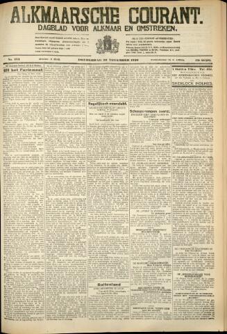 Alkmaarsche Courant 1930-11-20