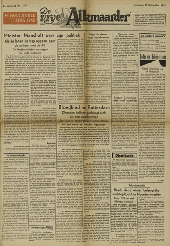 De Vrije Alkmaarder 1947-12-15