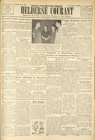 Heldersche Courant 1949-07-25