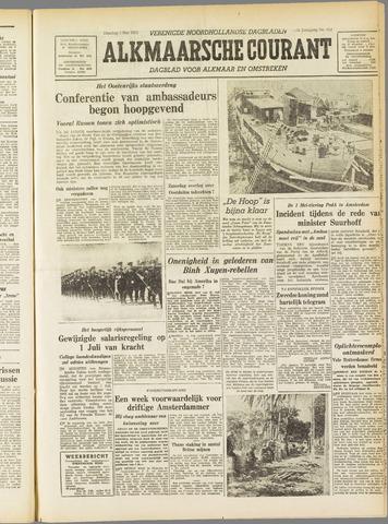 Alkmaarsche Courant 1955-05-03