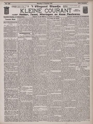 Vliegend blaadje : nieuws- en advertentiebode voor Den Helder 1912-08-31