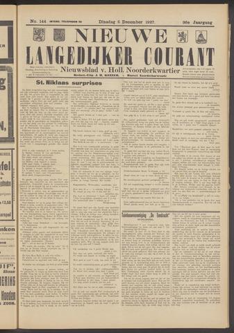 Nieuwe Langedijker Courant 1927-12-06
