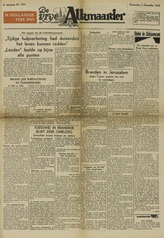 De Vrije Alkmaarder 1947-12-03