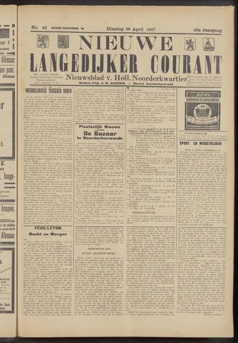 Nieuwe Langedijker Courant 1927-04-19