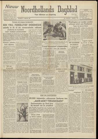 Nieuw Noordhollandsch Dagblad : voor Alkmaar en omgeving 1948-02-04