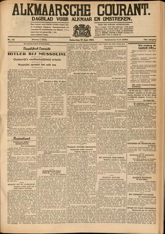 Alkmaarsche Courant 1934-06-16