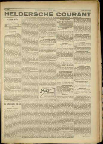 Heldersche Courant 1925-11-26