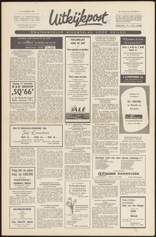 Uitkijkpost : nieuwsblad voor Heiloo e.o. 1966-11-24