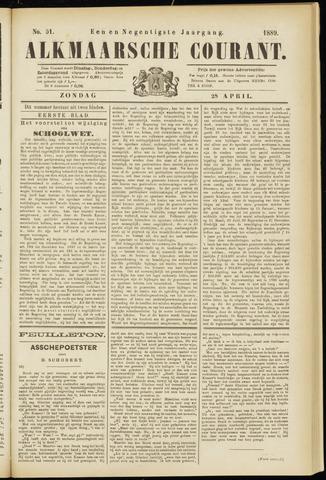 Alkmaarsche Courant 1889-04-28