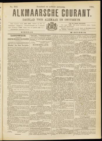 Alkmaarsche Courant 1906-10-16