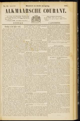 Alkmaarsche Courant 1901-08-04