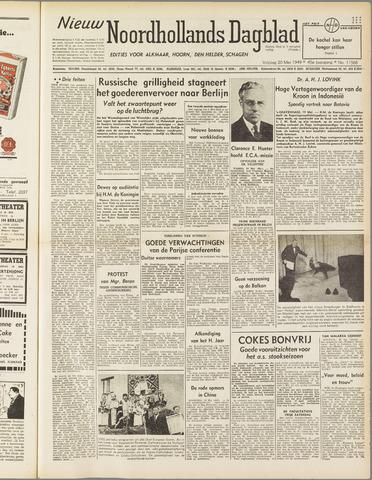 Nieuw Noordhollandsch Dagblad : voor Alkmaar en omgeving 1949-05-20
