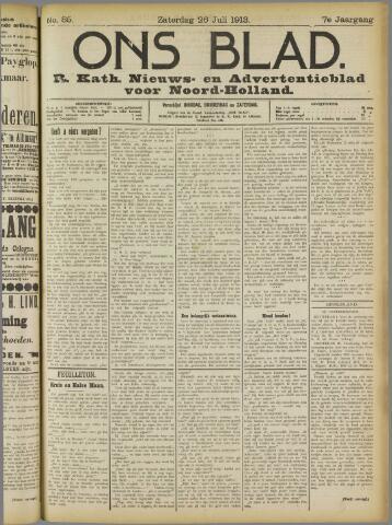 Ons Blad : katholiek nieuwsblad voor N-H 1913-07-26