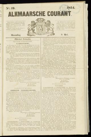 Alkmaarsche Courant 1854-05-08