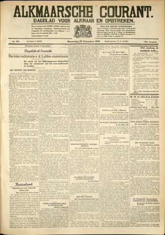 Alkmaarsche Courant 1933-12-20