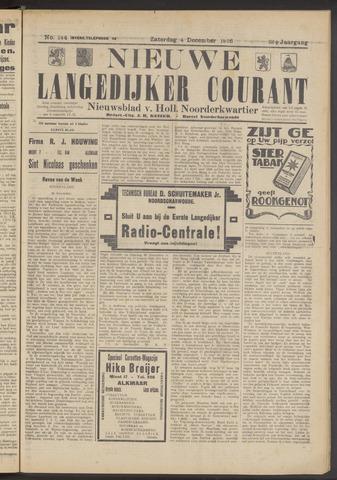 Nieuwe Langedijker Courant 1926-12-04