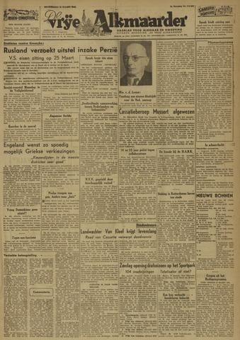 De Vrije Alkmaarder 1946-03-21