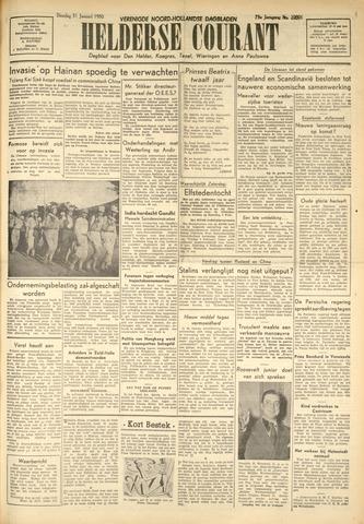 Heldersche Courant 1950-01-31