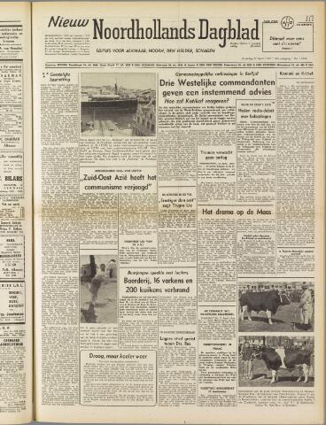 Nieuw Noordhollandsch Dagblad : voor Alkmaar en omgeving 1950-04-22