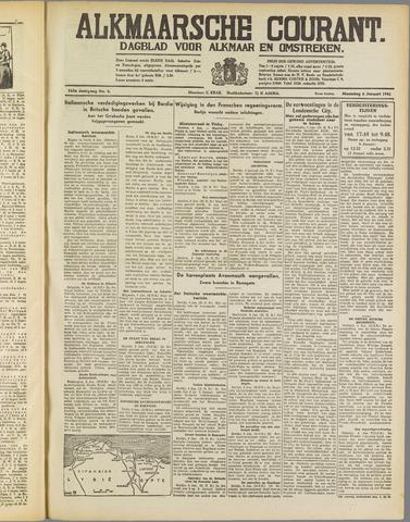 Alkmaarsche Courant 1941-01-06
