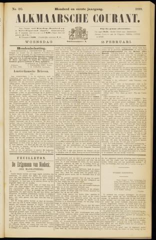 Alkmaarsche Courant 1899-02-15
