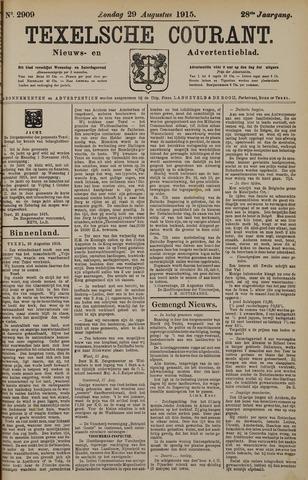 Texelsche Courant 1915-08-29