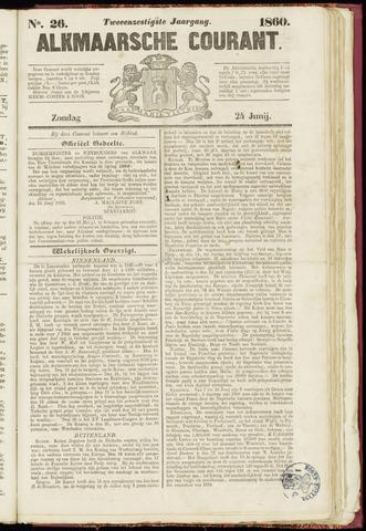 Alkmaarsche Courant 1860-06-24
