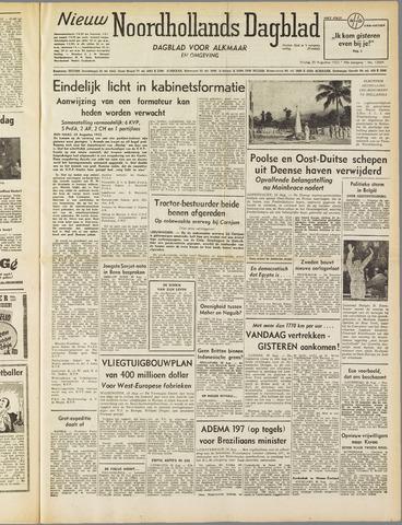 Nieuw Noordhollandsch Dagblad : voor Alkmaar en omgeving 1952-08-29