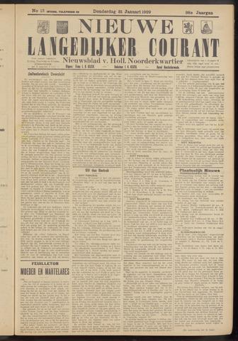 Nieuwe Langedijker Courant 1929-01-31