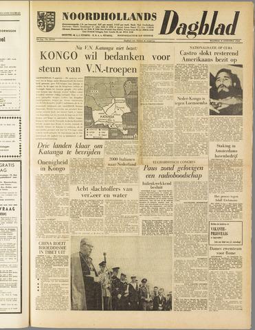 Noordhollands Dagblad : dagblad voor Alkmaar en omgeving 1960-08-08