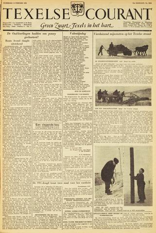Texelsche Courant 1952-02-13