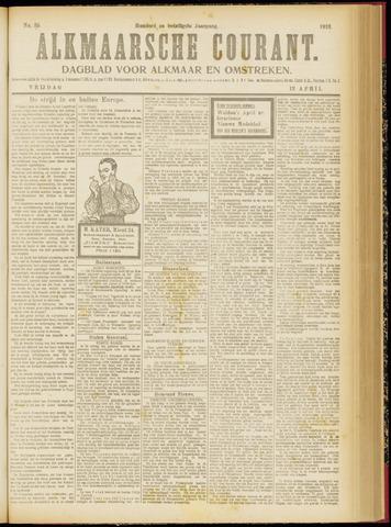 Alkmaarsche Courant 1918-04-12