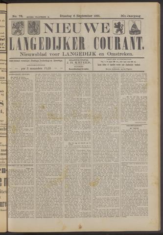 Nieuwe Langedijker Courant 1921-09-06