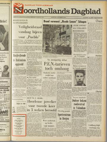 Noordhollands Dagblad : dagblad voor Alkmaar en omgeving 1968-01-26