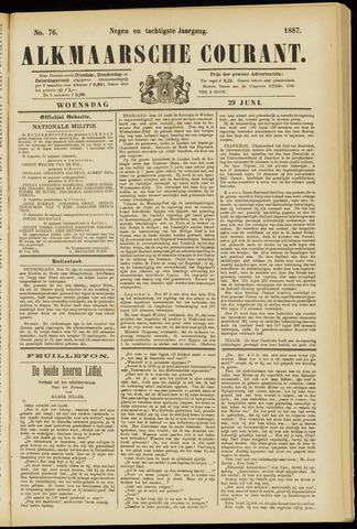 Alkmaarsche Courant 1887-06-29