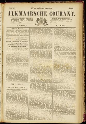 Alkmaarsche Courant 1883-04-06