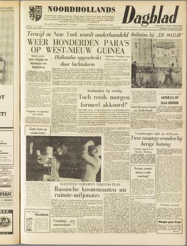 Noordhollands Dagblad : dagblad voor Alkmaar en omgeving 1962-08-14