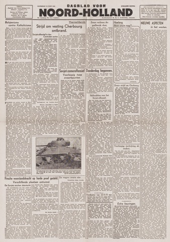 Dagblad Noord-Holland, Schager editie 1944-06-24