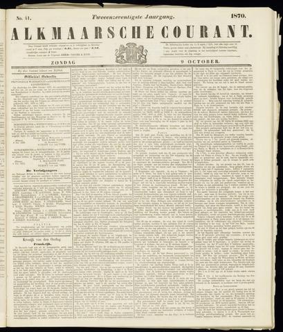 Alkmaarsche Courant 1870-10-09