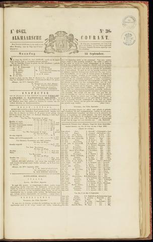 Alkmaarsche Courant 1845-09-22