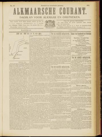 Alkmaarsche Courant 1915-03-01