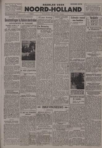 Dagblad Noord-Holland, Schager editie 1942-12-09