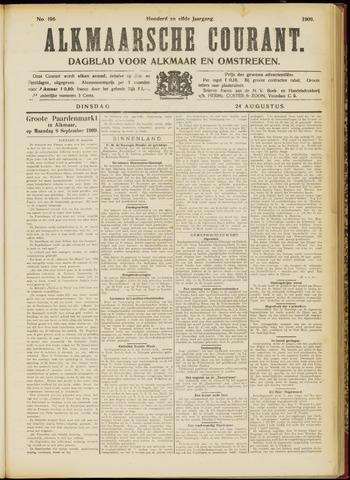 Alkmaarsche Courant 1909-08-24
