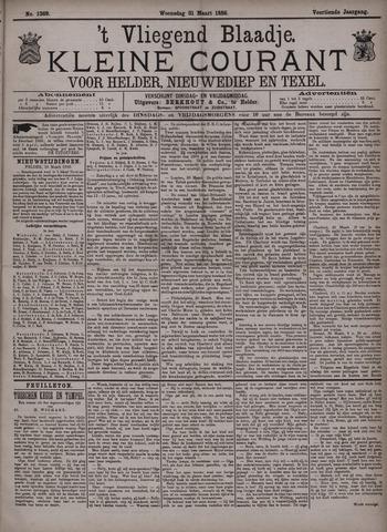 Vliegend blaadje : nieuws- en advertentiebode voor Den Helder 1886-03-31