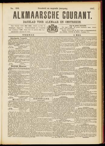 Alkmaarsche Courant 1907-05-03