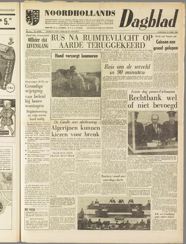 Noordhollands Dagblad : dagblad voor Alkmaar en omgeving 1961-04-12