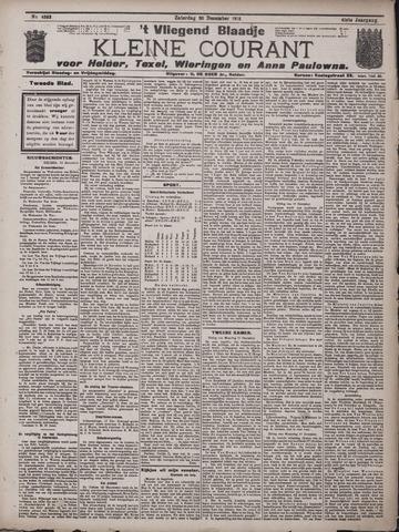 Vliegend blaadje : nieuws- en advertentiebode voor Den Helder 1913-12-20
