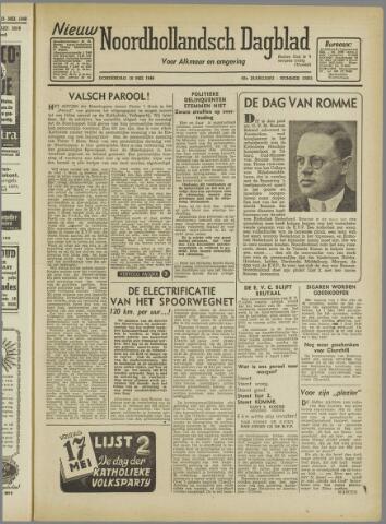 Nieuw Noordhollandsch Dagblad : voor Alkmaar en omgeving 1946-05-16