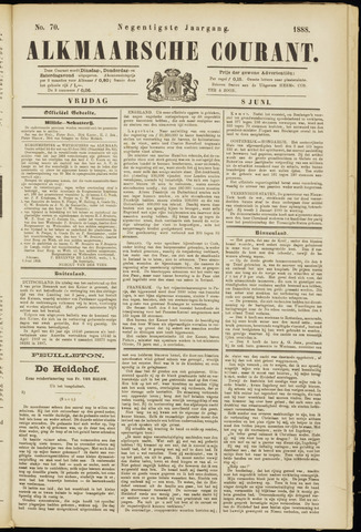 Alkmaarsche Courant 1888-06-08